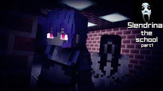 slendrina the school Horror game survival part1 [Minecraft animation]