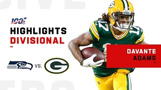 Davante Adams Puts on a Clinic vs. Seahawks | NFL 2019 Highlights
