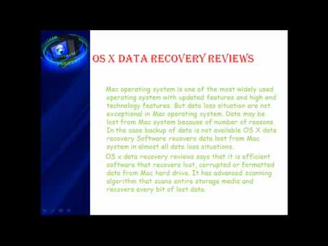 OS X Data Recovery Reviews