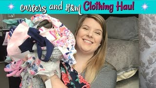 Carters and H&M Toddler Clothing Haul // Spring & Summer Clothes