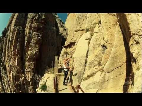 Worlds Most Dangerous Path // El Camino Del Rey: EXTENDED VERSION Start to Finish
