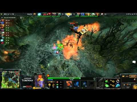 Fnatic EU vs VirtusPro Game 1 - Russian DOTA2 League - TobiWan