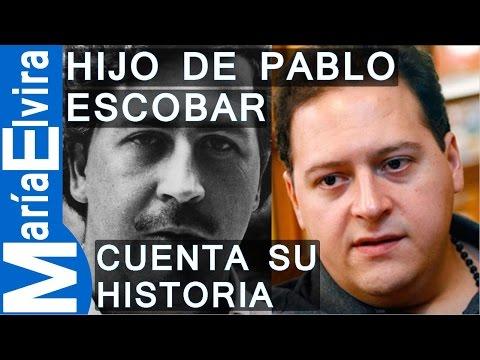 ÚNICO HIJO VARON DE PABLO ESCOBAR CUENTA SU HISTORIA.