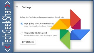 Convert Existing Google Photos to High-Quality | Recover Storage