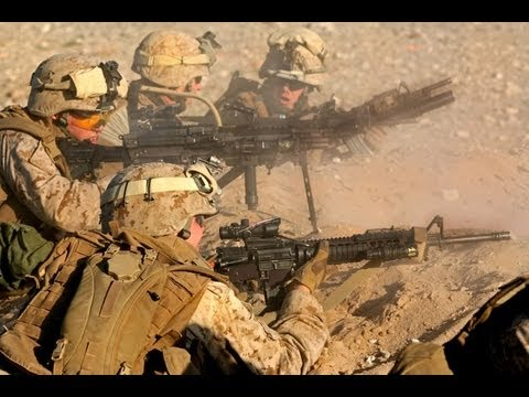 US Marines In Afghanistan Fighting Taliban