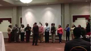 """Everyday is a Day of Thanksgiving"" Alabama A&M Gospel Choir Spring 2013"