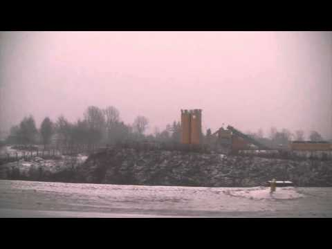 Taxi and Take-off From John Paul II International Airport Kraków–Balice, Poland - 4th January, 2016