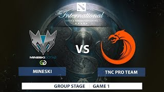 Mineski Dota vs TNC Pro Team  Groupstage  The International 7  Southeast Asia Qualifiers  Philippine