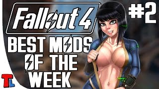 Fallout 4 Best Mods Of The Week #2 - SEXY ANIME, 4K POWER ARMOR AND MORE! - 4K 60 fps