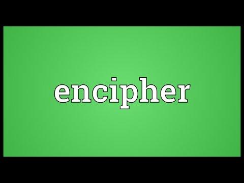 Header of encipher