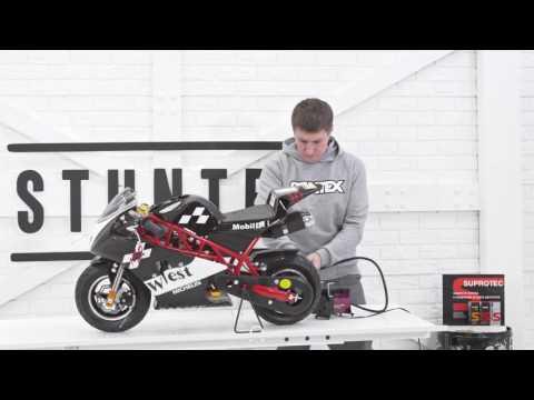 Детский мотоцикл МиниМото Motax в стиле Ducati - обзор и сборка