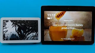 Google Home Hub Vs Amazon Echo Show