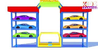 Colors For Children To Learn With Dump Truck Toys #w - Learn Colors with Soccer Balls for