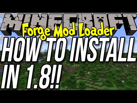 How To Install Forge In Minecraft 1.8