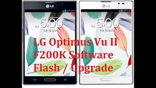 LG Optimus Vu II F200 Flashing Guide