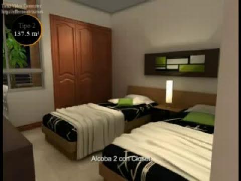 Apartamento Tres 3 Alcobas 137.5 m2 - Proyecto Faro de Alejandría - Laureles - Medellin - Colombia