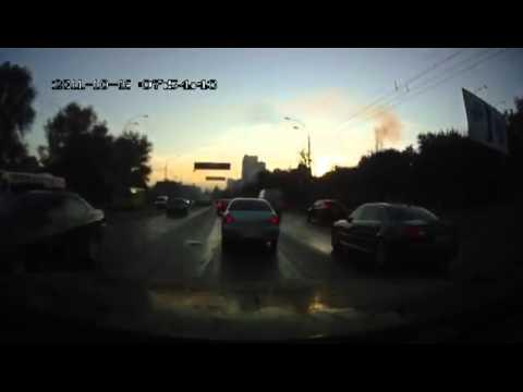 Первый день жестянщика в Киеве. Видео ДТП