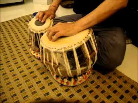YE JO CHILMAN HAI -TABLA INSTRUMENTAL BY RAJIV GOEL