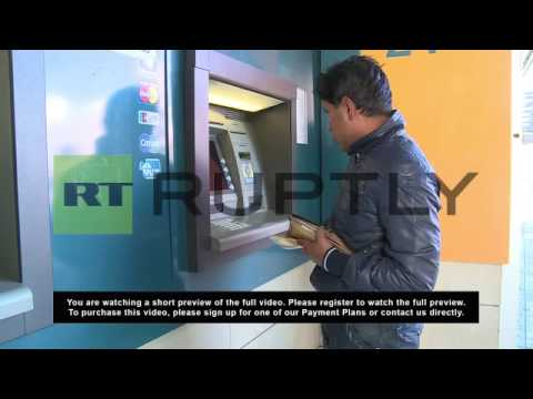 Cyprus: Cypriots empty ATM machines after proposed tax levy
