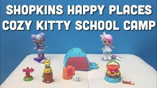 Shopkins Happy Places Cozy Kitty School Camp Bridie Crystal Snow