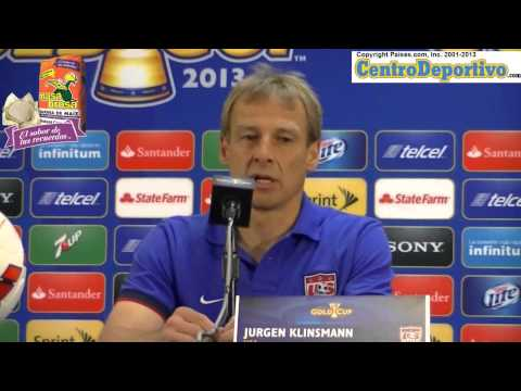 Part 1: Jurgen Klinsmann Press Conference after winning Gold Cup 2013