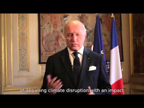 Laurent Fabius introduces Paris 2015 - COP21/CMP11