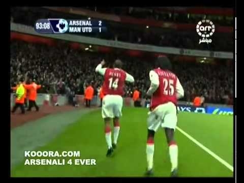      Goal henry in Manchester United