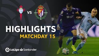 Highlights RC Celta vs Real Valladolid (0-0)