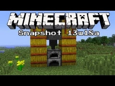 Minecraft 1.6 Update News: 13w18a Snapshot Full Overview