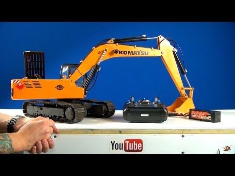 RC ADVENTURES - Powerful 1/12 Scale Earth Digger 4200XL RC Excavator (Hydraulic/Electric)