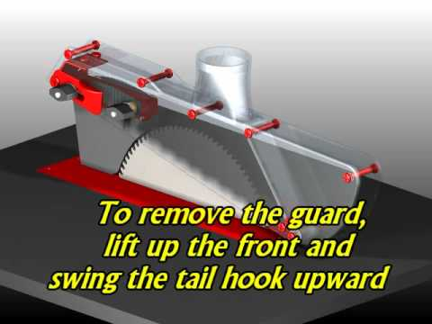 Shopnotes table saw blade guard how to save money and do it yourself Table saw splitter