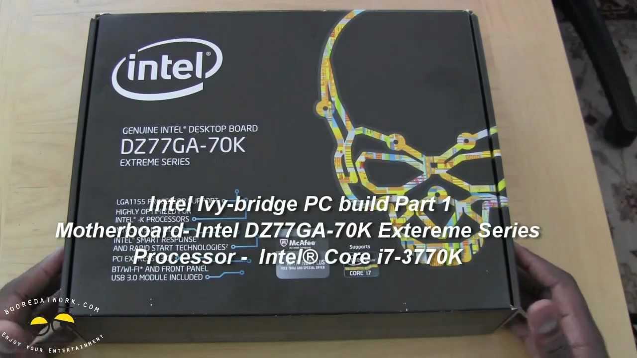 Intel Extreme Motherboard Dz77ga-70k Intel Qz77ga-70k Extreme