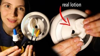 ASMR 3Dio LOTION EAR MASSAGE with Brushes & Pipette