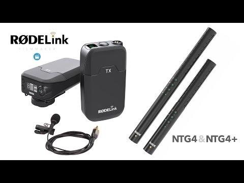 RodeLink Filmmaker Kit, NTG4, NTG4+ Microphone Broadcast Expo 2015