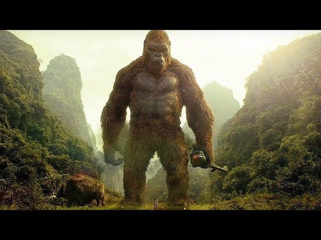 Kong Saves Giant Buffalo Scene - Kong Skull Island 2017 Movie Clip HD