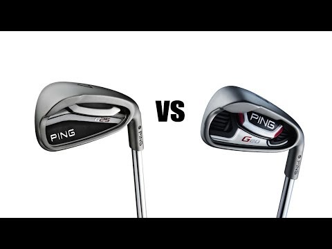 Ping G20 Irons Vs G25 Irons Comparison and Review