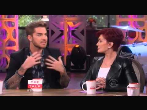 2015-07-20 Adam Lambert on The Talk - Interview & Ghost Town