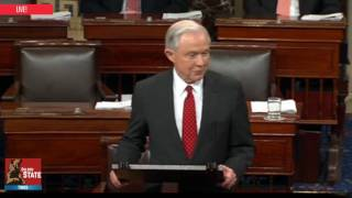 AMAZING: Jeff Sessions Thanks his Colleagues in the Senate After his victory as Attorney General!!!