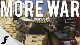 MORE WAR - Call of Duty WW2 War Mode
