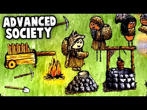 Building an ADVANCED SOCIETY in One Hour One Life (New Indie Survival Game)
