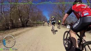 Barry Roubaix 2016 | Killer Gravel Road Race - Full Race