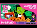Lagu Halloween Costume Party | Halloween Songs | + Compilation | PINKFONG Songs for Children