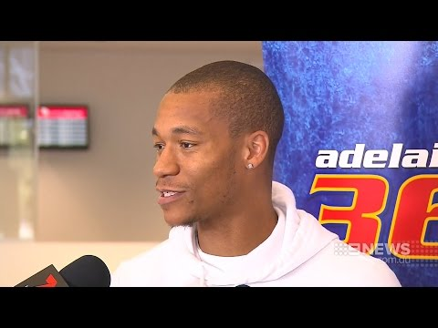 JEROME RANDLE IS BACK IN ADELAIDE - CHANNEL 9 NEWS