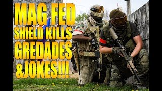 MAG FED SHIELDS, KILLS, GRENADES AND JOKES INSANITY!!!!