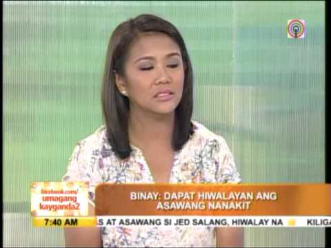 Nancy Binay speaks up vs spousal abuse