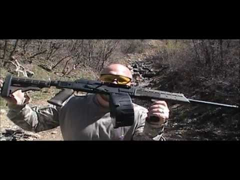 Saiga 12 AK-47 / MD Arms 20 rd. drum mag: Shotgun or weapon of mass destruction?