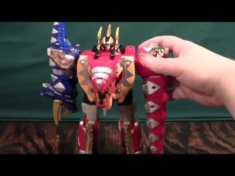 Power Rangers Dino Thunder Thundersaurus Megazord Review (Abaranger DX AbarenOh)