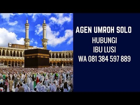 Video agen travel umroh di solo