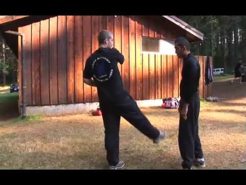 Muay Thai Techniques: Cut Kick Counter to The Teep Image 1