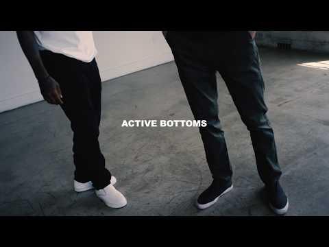 ACTIVE BOTTOMS - Designed in California | Built for Skateboarding
